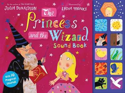 Book cover for The Princess and the Wizard Sound Book